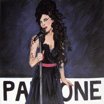 Amy Winehouse Back to Black Pantone