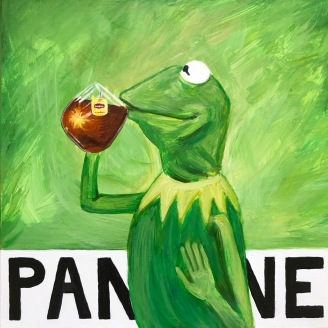 It's Not Easy Being Pantone 15-0343 Greenery (Kermit the Frog) | 2017 | NFS