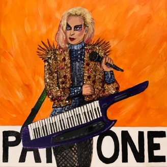 The Edge of Pantone 15-1263 Autumn Glory (Lady Gaga) | 2017 | NFS