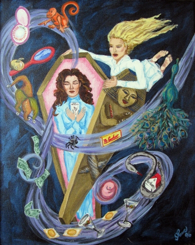 Pandora's Box | Acrylic on canvas | 1996 | NFS