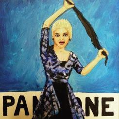 Madonna True Blue Pantone