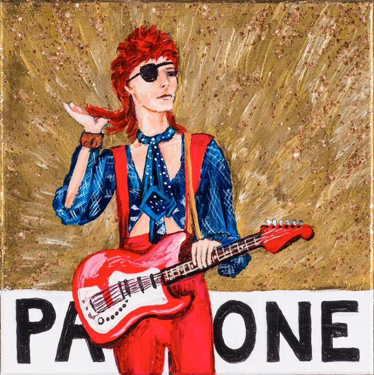 David Bowie Golden Years Ziggy Stardust Pantone