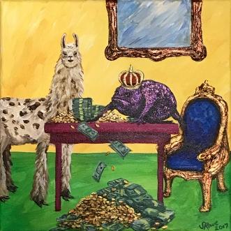 Aparigraha – The Llama of Non-Avarice   2017