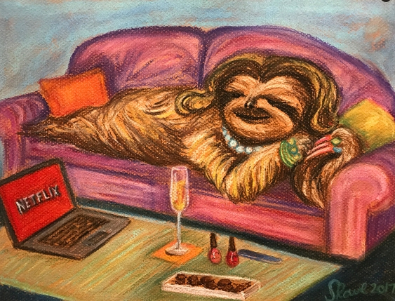 Lady of Leisure Sloth