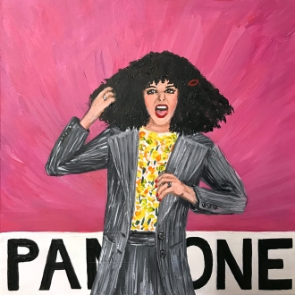 Pantone 16-1715 Wild Roseanne Roseannadanna (Gilda Radner)