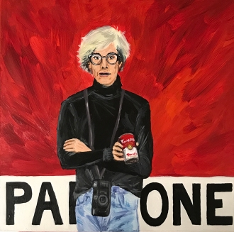 Pantone 18-1660 Tomato (Andy Warhol) | 2017 | NFS