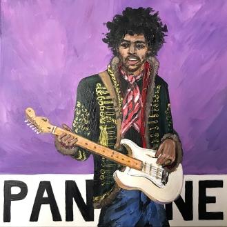 Pantone 18-3718 Purple Haze (Jimi Hendrix) | 2017