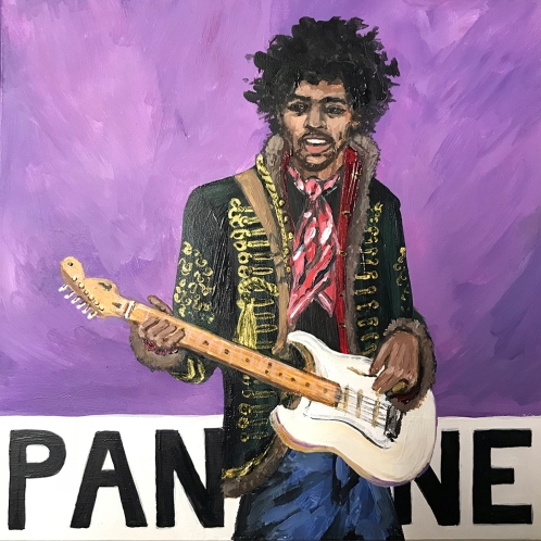 Pantone 18-3718 Purple Haze (Jimi Hendrix)
