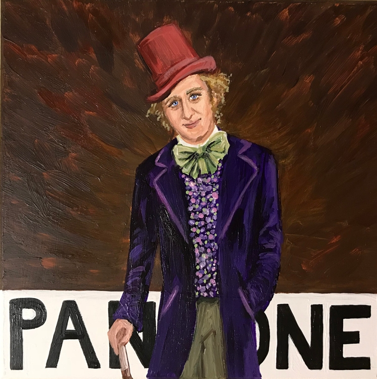 Pantone 19-0912 Chocolate Factory Brown (Gene Wilder as Willy Wonka)
