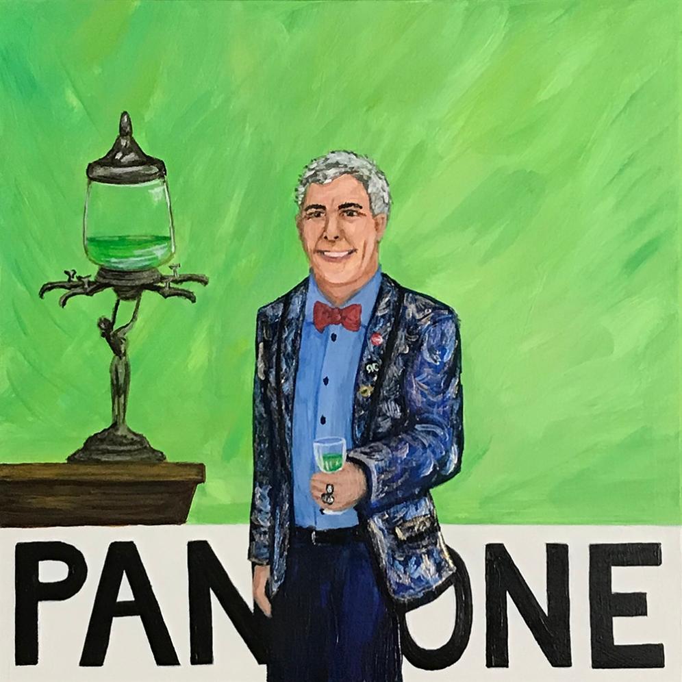 Pantone 14-6329 Absinthe Green