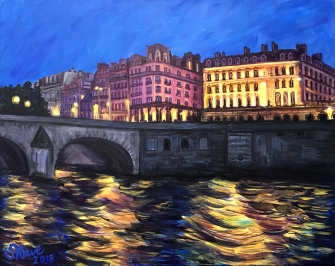 Seine River, Pont Royal,