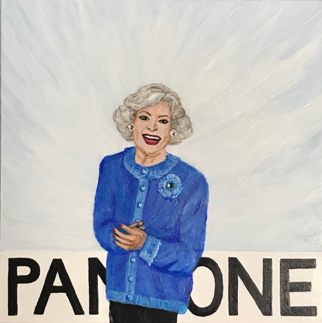 Betty White, Pantone