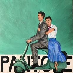 Roman Holiday, Audrey Hepburn, Gregory Peck, Pantone