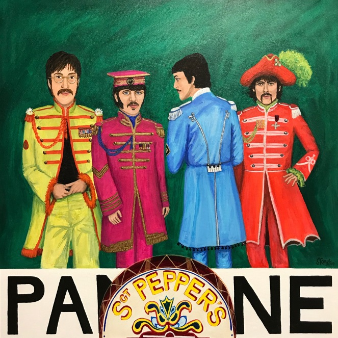 The Beatles, Pantone, Sgt. Pepper Green