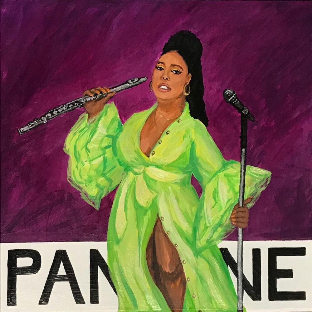 """""""Pantone 19-3230 Juice"""" (Lizzo)"""