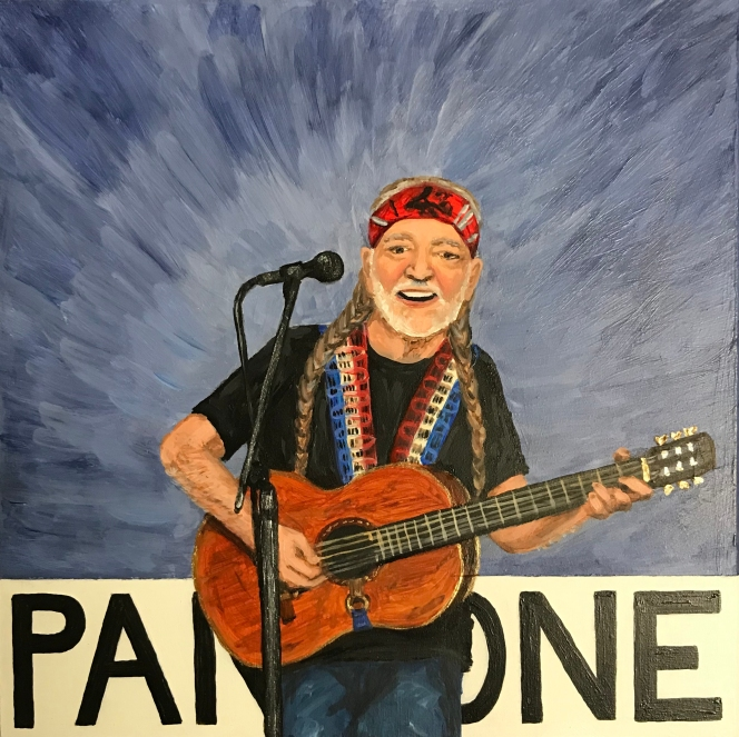 Pantone 17-3918 Country Blue (Willie Nelson)
