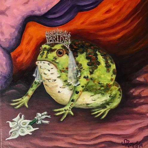 Bridezilla, Crucifix Toad, Tiara, Wedding