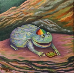 Budgett's Frog, My Dudes, Avocado Toast, Hipster Frog