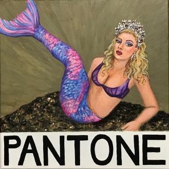 Tina Starr, Pantone 17-0618 Mermaid