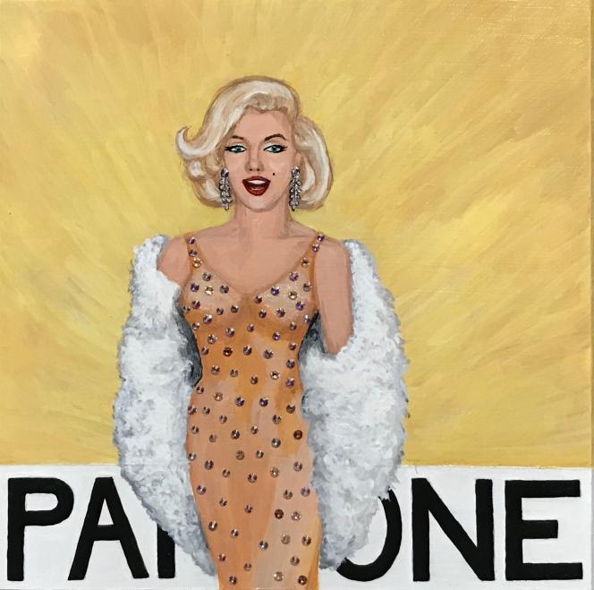 Pantone 12-0813 Autumn Blonde Marilyn Monroe