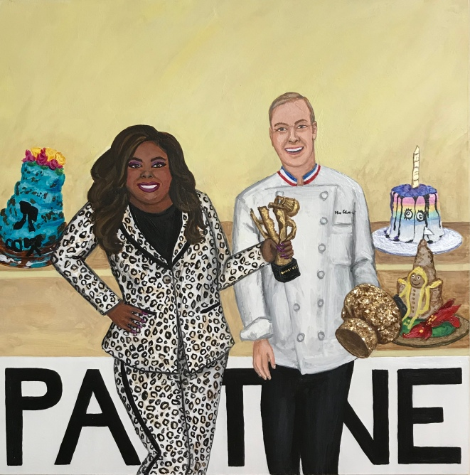 Pantone 11-0110 Buttercream, Nicole Byer, Jacques Torres, Nailed It