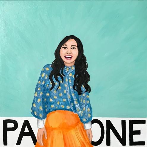 Pantone 12-5504 Clearly Awkwafina