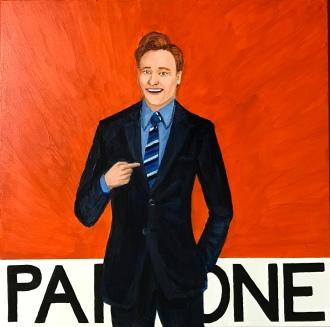 Pantone 158 C Team Coco Orange, Conan O'Brien