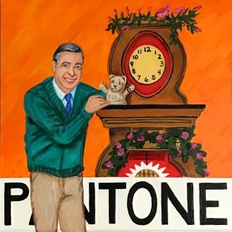 Pantone 16-1358 Orange Tiger, Mister Rogers, Daniel Tiger