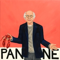 Pantone 16-1520 Lobster Bisque, Larry David