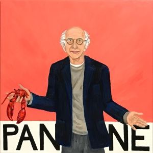 Pantone 16-1520 Lobster Bisque, Larry David