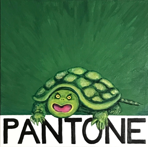 Pantone 17-0330 Turtle Green, Snappy