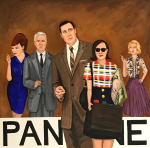 Pantone 17-1327 Tobacco Brown, Mad Men, Don Draper, Peggy Olson