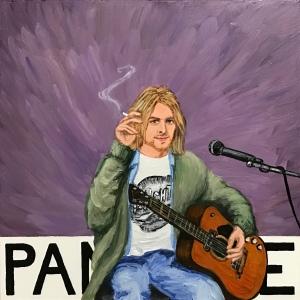 Pantone 17-3808 Nirvana, Kurt Cobain