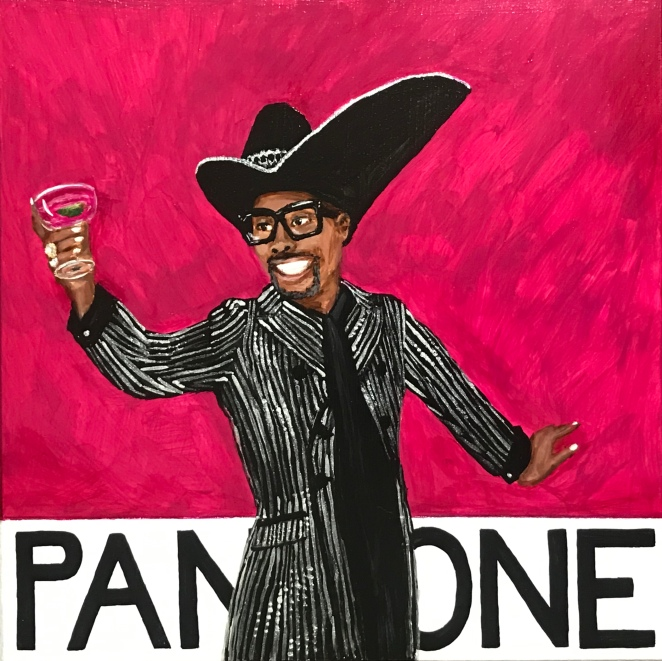 Pantone 18-1951 Love Potion, Billy Porter