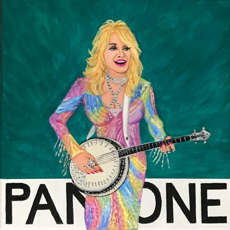 Pantone 18-5128 Blue Grass, Dolly Parton