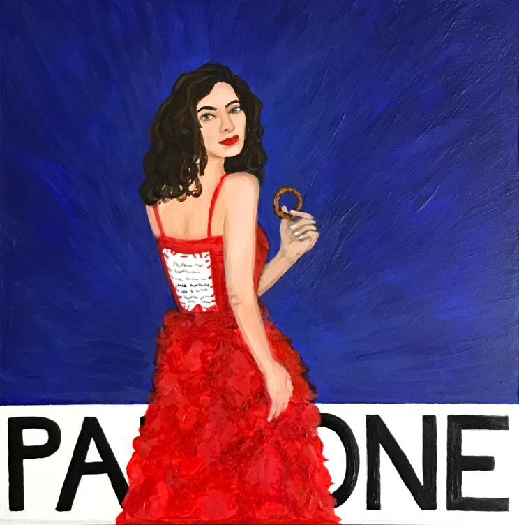 Pantone 19-3955 Royal Blue, Lorde
