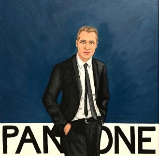 Pantone 19-4052 Classic Blue, Paul Newman