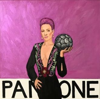 Pantone 20-0108 Pixie, Megan Rapinoe
