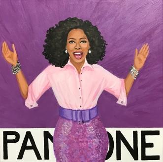 The Color Pantone Purple CP, Oprah Winfrey