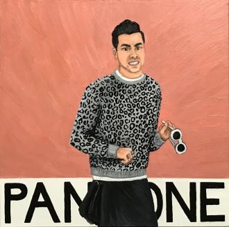 Pantone 20-0094 Rose Gold, Dan Levy, David Rose, Schitt's Creek